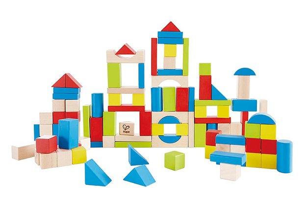 Hape: Wooden Building Block Set (100pc)
