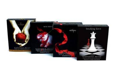 Twilight Audio CD Pack: All 4 titles Unabridged (Listening Library) by Stephenie Meyer image