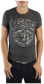 Legends of the Hidden Temple - Charcoal T-Shirt (Large)