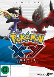 Pokemon: XY Movie Collection on DVD