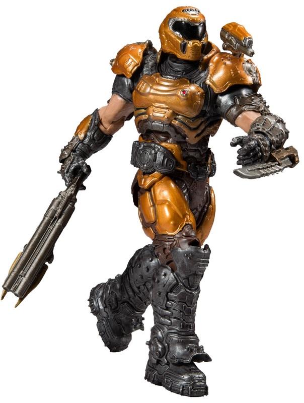 "Doom 2: Doom Slayer (Phobos) - 7"" Articulated Figure"