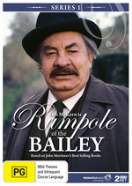 Rumpole Of The Bailey - Series 1 (2 Disc Set) on DVD