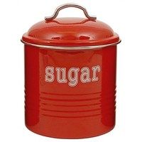 Sugar Canister - Red