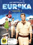 Eureka - Season 3 (4 Disc Set) DVD