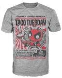 Deadpool - Chimichanga Pop! T-Shirt -(XXL)