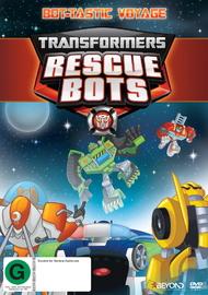 Transformers Rescue Bots: Bot-Tastic Voyage - Season 3 - Volume 2 on DVD