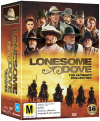 Lonesome Dove - The Ultimate Collection (Slip Case Edition) on DVD