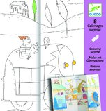 Djeco: Colouring Surprises - Hide & Seek