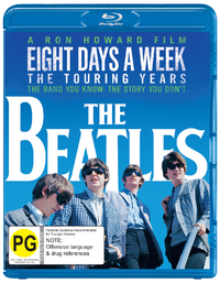 The Beatles: Eight Days a Week - The Touring Years on Blu-ray image