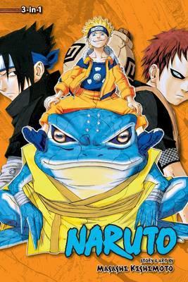 Naruto (3-in-1 Edition), Vol. 5 by Masashi Kishimoto image