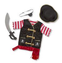 Melissa & Doug: Pirate Costume Role Play Set