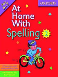 At Home with Spelling: Bk. 2 by Deidre Coates image