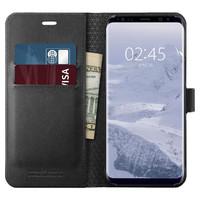 Spigen Galaxy S9 Premium Wallet Case- Black