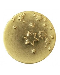 Gold Stars On Keepsake Coin