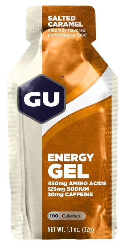 GU Energy Gel - Salted Caramel (32g) Single Serve