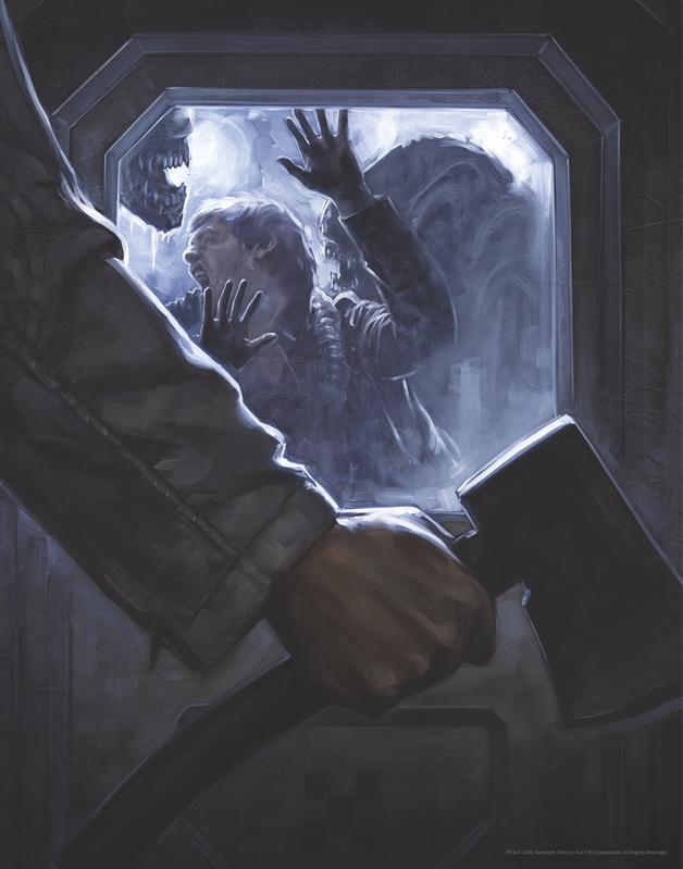 Alien: Premium Art Print - Open The Door