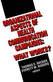 Organizational Aspects of Health Communication Campaigns image