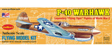 P40 Warhawk 1/30 Balsa Model Kit