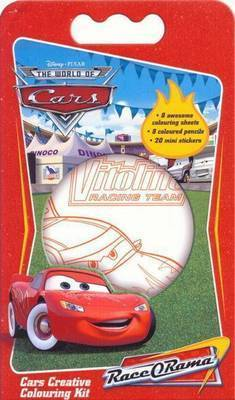 Cars Disney Creative Colouring Kit