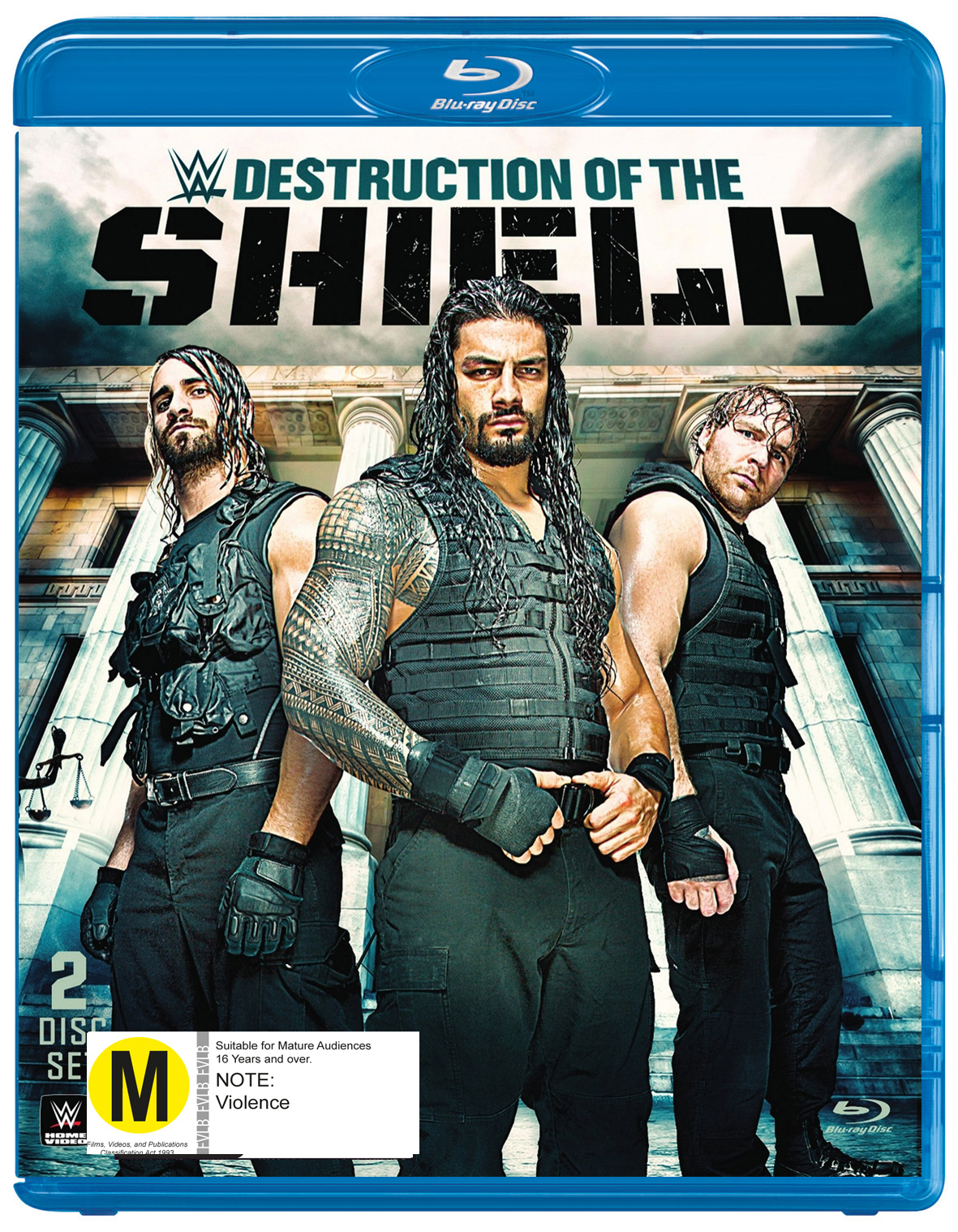 WWE - The Destruction Of The Shield on Blu-ray image