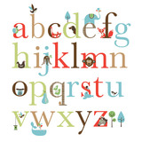 Skip Hop: Alphabet Zoo - Wall Decals