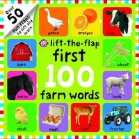 Lift-the-Flap First 100 Farm Words by Roger Priddy