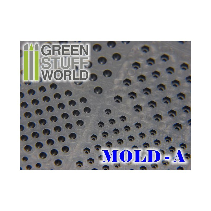 Green Stuff World : Rivet Rubber Molds image
