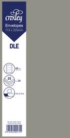 Envelope DLE Zinc - 114x225mm (Pack 25)