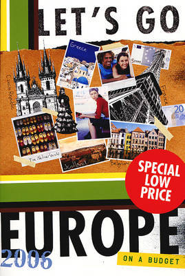Let's Go 2006 Europe by Harvard image