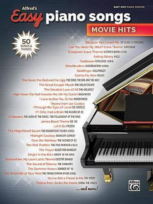 Alfred's Easy Piano Songs -- Movie Hits