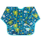 Bumkins: Waterproof Sleeved Bib - Sea Friends
