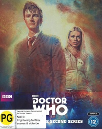 Doctor Who: The Complete Second Series (Limited Steel Book Edition) on Blu-ray