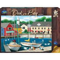Holdson: 1000 Piece Puzzle - Dock Of The Bay (Swans Haven)
