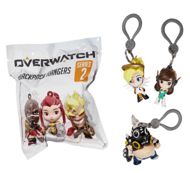 Overwatch: Back Pack Hangers - Series 2 (Blind Bag)