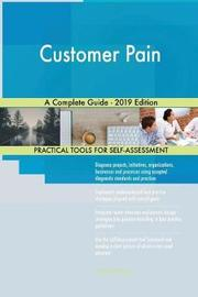 Customer Pain A Complete Guide - 2019 Edition by Gerardus Blokdyk image