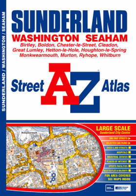 A-Z Sunderland Street Atlas by Great Britain image