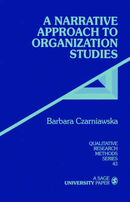 A Narrative Approach to Organization Studies image