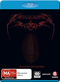 Metalocalypse - Season 3 on Blu-ray