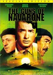 The Guns Of Navarone on DVD