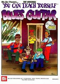 You Can Teach Yourself Blues Guitar by Mike Christiansen image
