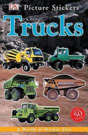 Trucks: DK Picture Stickers by Claire Ellerton image