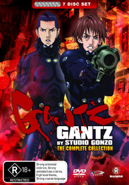 Gantz Complete Collection on DVD image