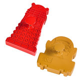 Doctor Who Dalek & Sontaran Cookie Cutters