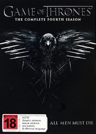 Game of Thrones - The Complete Fourth Season on DVD