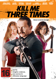 Kill Me Three Times on DVD