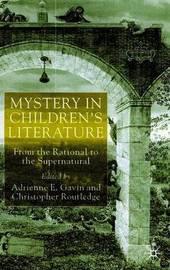 Mystery in Children's Literature by Adrienne Gavin