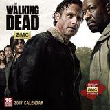 Walking Dead 2017 Square Wall Calendar by AMC