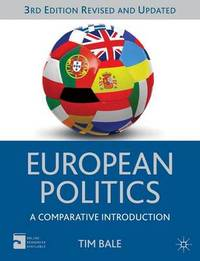 European Politics by Tim Bale image