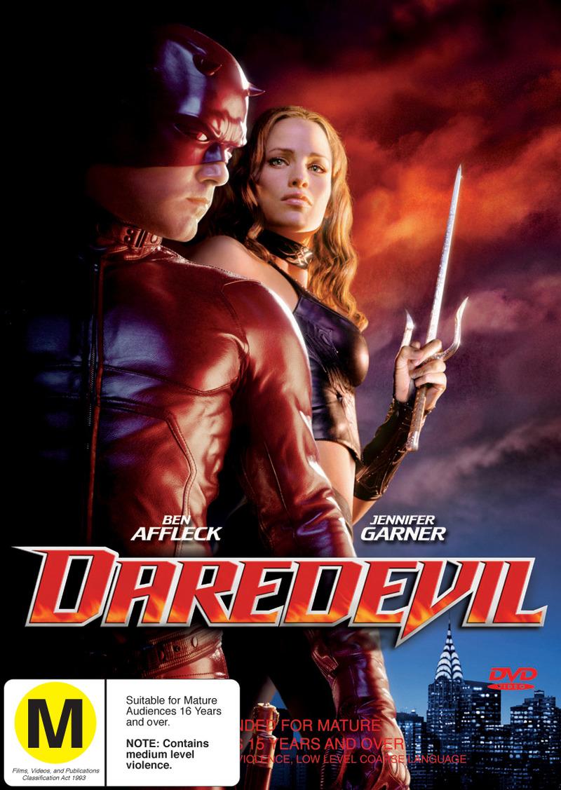 Daredevil on DVD image