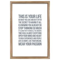 Words To Live By - Life Rules
